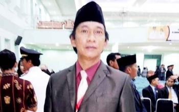 Kepala Dinas Tenaga Kerja dan Transmigrasi Kabupaten Pulang Pisau Farisco JS Ibat