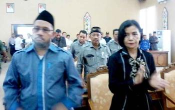 Ketua Pansus DPRD Katingan Fahmi Fauzi.