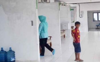 Ruang pelayan kesehatan Rumah Sakit Umum Daerah (RSUD) Sukamara.