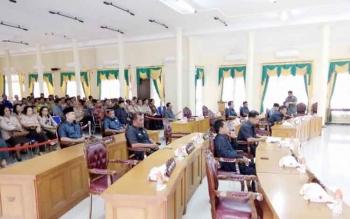 7 Anggota DPRD Lamandau Tak Hadir dalam Sidang Paripurna Perdana 2017