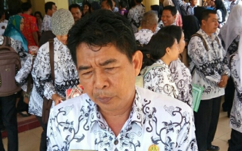 Kepala Dinas Pendidikan Kotim Suparmadi.