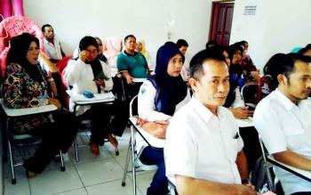 Tenaga Kesehatan di Kabupaten Pulang Pisau yang selalu siap pada saat Pemkab Pulpis melakukan pelayanan kesehatan gratis.