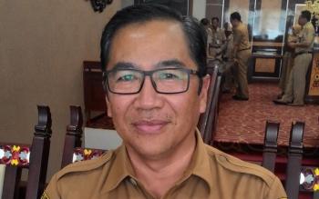 Kepala Dinas PUTR Kalteng. Leonard S Ampung
