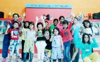Salah satu program yang mendorong aktivitas anak-anak di KPAD Kotawaringin Barat.