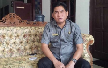 Ketua DPRD Kotim Jhon Krisli.