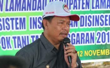 Wabup Lamandau Drs H Sugiyarto.