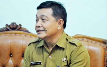 Asisten I Bidang Pemerintahan dan Kesra Kabupaten Pulang Pisau, Susilo I. Tamin.