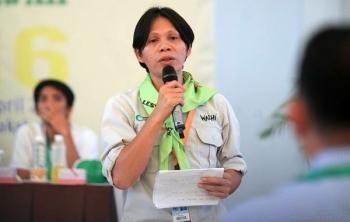 Direktur Eksekutif Wahana Lingkungan Hidup (Walhi) Kalteng Arie Rompas.