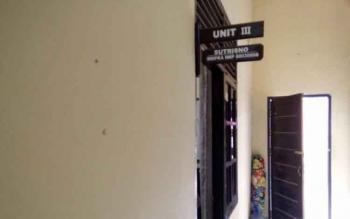 Ruangan unit III Satreskrim Polres Lamandau.