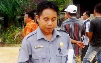 Anggota DPRD Gunung Mas (Gumas) Herbert Y Asin