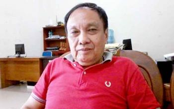 Ketua DPD Partai Perindo Kabupaten Katingan yang juga mantan Sekda Katingan, Gatin Rangkai.