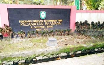 Kantor Kecamatan Baamang, Kabupaten Kotawaringin Timur.
