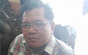 Anggota DPRD Kabupaten Gunung Mas Edyson D Kenting