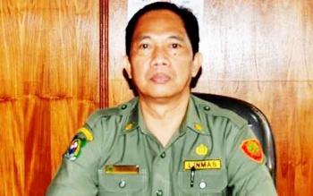 Kepala Bagian (Kabag) Hukum Sekretariat Daerah (Setda) Kabupaten Kapuas, Kristop.