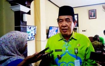 Wakil bupati Kotim HM Taufiq Mukri