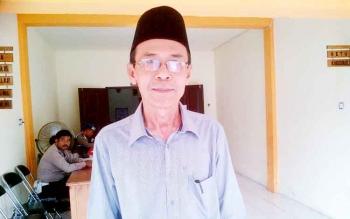 Ketua KPU Barsel, M Hadisurais