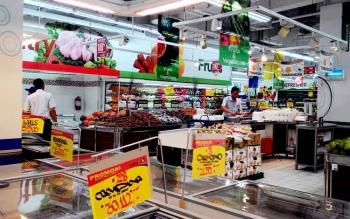 Bahan makanan yang dijual di sebuah pusat perbelanjaan di Kota Palangka Raya. DPRD Kota Palangka Raya meminta Pemkot melakukan pengecekan bahan makanan secara terus menerus untuk memberikan rasa aman pada konsumen.