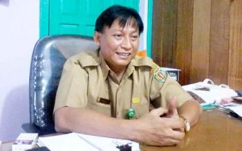 Kepala Dinas Kesehatan Katingan, Robertus Pamuriyanto.