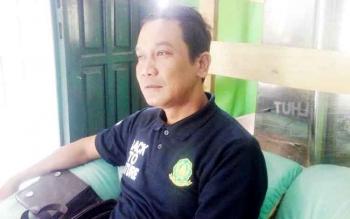 Kepala BKSDA Sampit Muhriansyah saat berada di Kuala Pembuang