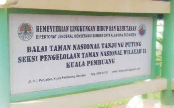 Kantor TNTP SPTN Wilayah II Kuala Pembuang di Jalan Di Panjaitan Kuala Pembuang.