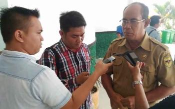 Kepala Dinas Pariwisata Pemuda dan Olahraga Kabupaten Gunung Mas Suprapto Sungan