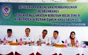 Wakil Bupati Seruyan Ingin Usulan Setiap Desa Diprioritaskan
