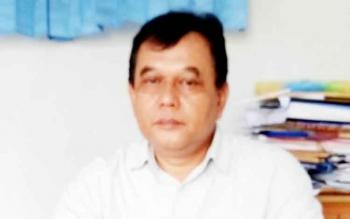 Direktur PDAM Tirta Sukma Sukamara, Acep Sutisna.