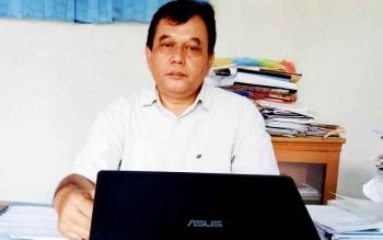 Kepala PDAM Tirta Sukma Sukamara, Acep Sutisna.