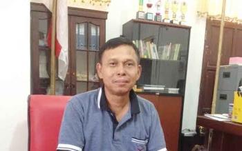 Kepala Disnakertran Mura, Syahrial Pasaribu.