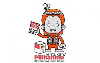 Maskot Pilkada Kotawaringin Barat 2017