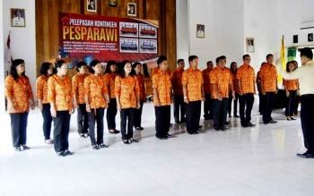 Kontingen Pesparawi Lamandau.