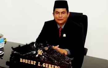 Wakil Ketua DPRD Kapuas Robert L Gerung