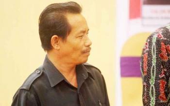 Ketua Panwaslih Kabupaten Kobar, Triyoyohepie.