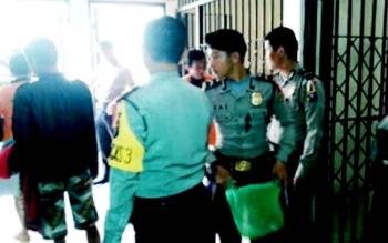 Personel Polres Barsel yang diterjunkan untuk pengamanan pilkada.
