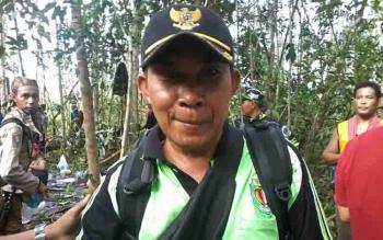 Kepala Desa Tumbang Bulan, Kecamatan Mendawai, Yusran.