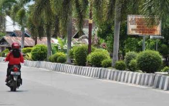 Jalan Panunjung Tarung Pulang Pisau.