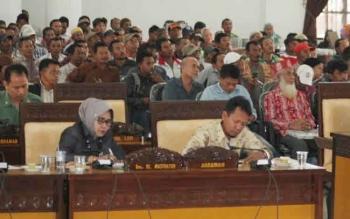Kegiatan hearing yang sebelumnya pernah digelar pihak anggota DPRD Seruyan.