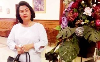 Anggota DPRD Kabupaten Gunung Mas Pendeta Rayaniatie Djangkan