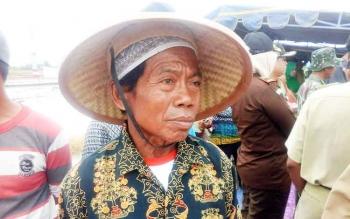 Siko, Ketua Kelompok Tani Karya Makmur Desa Mekar Indah.