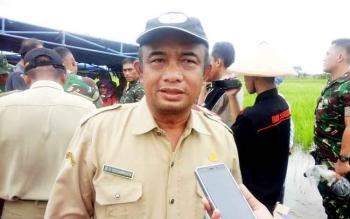 Kepala Dinas Ketahanan Pangan dan Pertanian (DKPP) Seruyan, Sugian Noor.