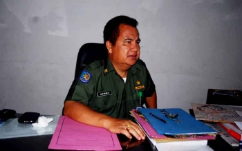Kepala Dinas BPMPTSP Barito Utara, H Izhar Safawi