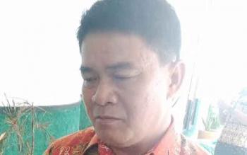 Kepala Dinas Pemberdayaan Masyarakat dan Desa (PMD) Kabupaten Gunung Mas (Gumas) Yulius Agau