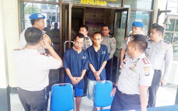 Sudiansyah alias Sudi (33) dan Ahmad Badarudin alias Mandra (18), tahanan yang kabur kembali berhasil ditangkap.