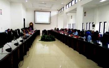 Rapat Dengar pendapat antara DPRD Barito Utara dengan pemerintah daerah serta RSUD Muara Teweh dan BPJS Kesehatan, Kamis (16/2/2017)