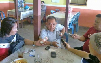 Ketua LSM Suara Rakyat Katingann, Anto Saptono.