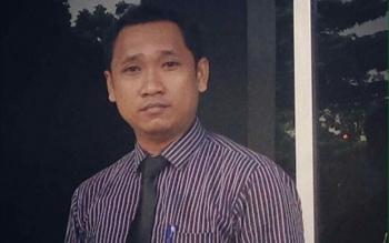 Sekretaris Kongres Advokat Indonesia Kalimantan Tengah Arif Irawan Sanjaya