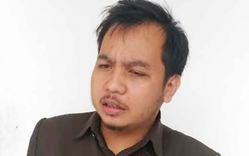 Anggota Dewan Perwakilan Rakyat Daerah (DPRD) Kabupaten Gunung Mas (Gumas) Evandi Juang