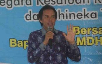 Anggota DPR RI Dapil Kalteng, Hamdhani.