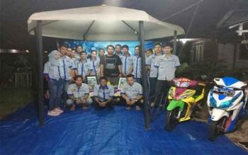 Klub Motor Mo'cca Dukung Polri Tegakan Kamseltibcarlantas