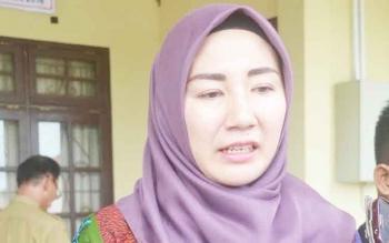 Wakil Ketua I DPRD Katingan Endang Susilawatie.